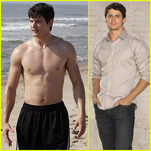 James Lafferty Interview -- JustJared.com Interview