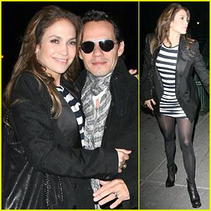 Jennifer Lopez & Marc Anthony: Le Caprice Couple