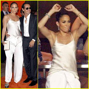 Jennifer Lopez: Touchdown Celebration