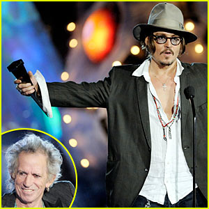 Johnny Depp: Keith Richards is Rock Immortal!