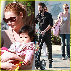 Katherine Heigl: Family Time with Naleigh!