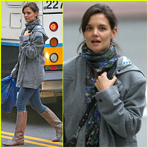 Katie Holmes Loads Up On Lindt