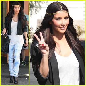 Kim Kardashian Dives Into Dash