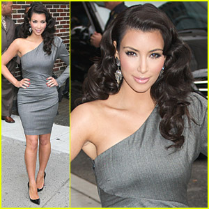 Kim Kardashian Loves The Late Show
