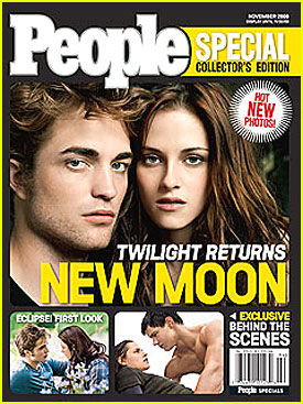 Robert Pattinson and Kristen Stewart Cover 'People'