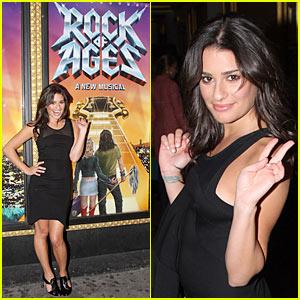 Lea Michele Rocks All Ages