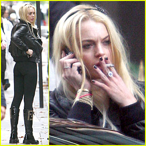 Lindsay Lohan: Fendi Boots Fierce