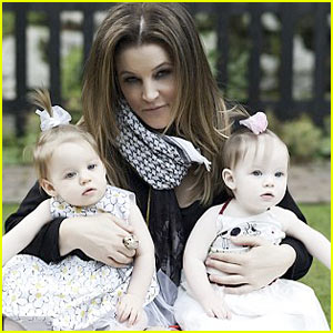 Lisa Marie Presley Celebrates Twins' First Birthday
