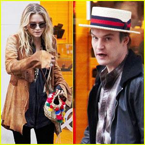 Mary-Kate Olsen & Nate Lowman: Tumi Twosome