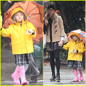 Matilda Ledger Brightens A Dreary Day