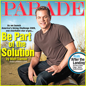 Matt Damon: The Importance Of Giving...