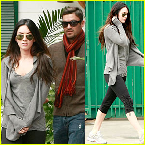 Megan Fox & Brian Austin Green: Zach's Cafe Couple