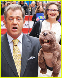 Mel Gibson Brings His Beaver To NYC