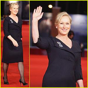 Meryl Streep is Radiant in Rome