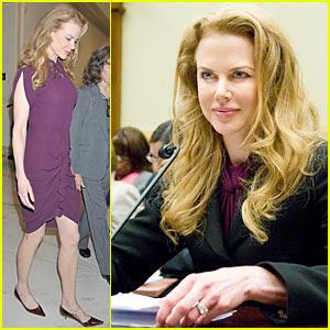 Nicole Kidman to Congress: Violence Against Women is Unacceptable
