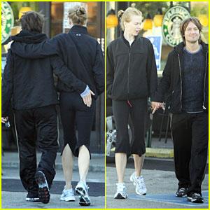 Keith Urban & Nicole Kidman: Starbucks Squeeze
