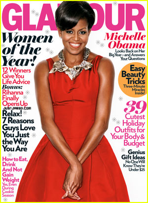 Michelle Obama Covers Glamour's Women of The Year Issue