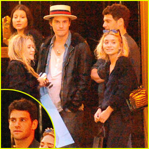 Olsen Twins: Double Date in Paris!