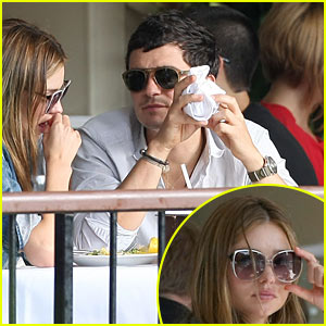 Orlando Bloom & Miranda Kerr: Boathouse Bunch