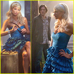 Paris Hilton Gets Supernatural - FIRST LOOK!