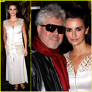 Madonna &#038; Penelope Cruz Honor Pedro Almodovar