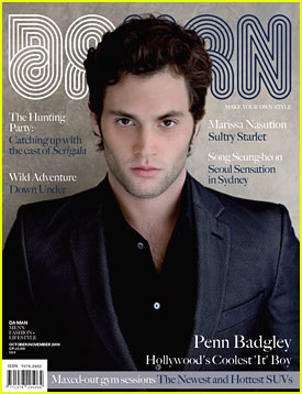 Penn Badgley Covers Da Man Magazine