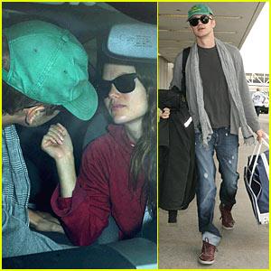 Hayden Christensen & Rachel Bilson: Good-Bye Kiss!