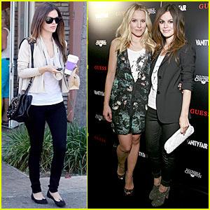 Rachel Bilson & Kristen Bell: Guess What?