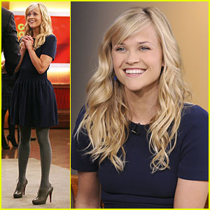Reese Witherspoon Does Good Morning America