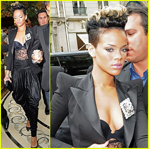 Rihanna: Balmain Babe Gets New Hairdo
