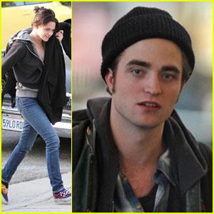 Robert Pattinson & Kristen Stewart: Done With Eclipse