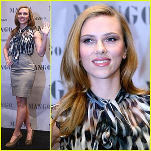 Scarlett Johansson Is Mad For Mango