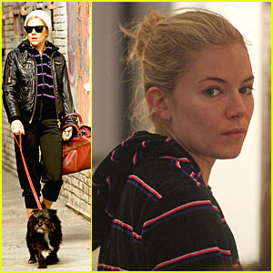 Sienna Miller Has A Tough Day