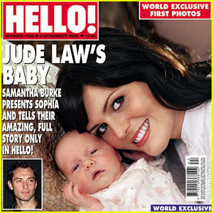 Sophia Law: First Picture of Jude Law's Daughter!