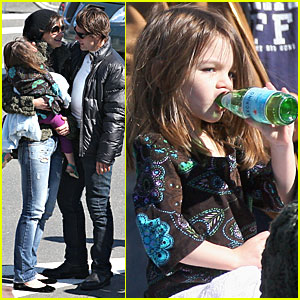 Suri Cruise is a Pellegrino Pee Wee