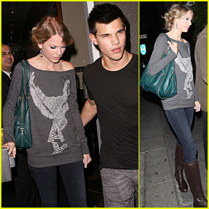 Taylor Swift & Taylor Lautner: Steakhouse Sweethearts