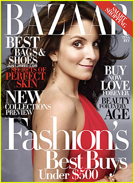 Tina Fey Covers Harper's Bazaar November 2009