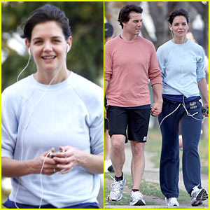 Tom Cruise & Katie Holmes: Halloween Run