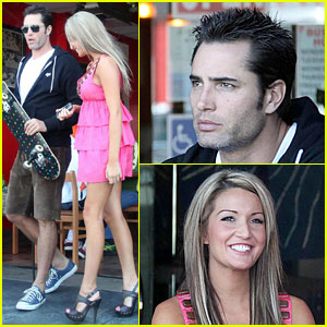 Victor Webster & Bikini Girl: Sushi and Sake!