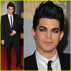 Adam Lambert - AMAs 2009 Red Carpet