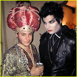 Adam Lambert & Ferras: Halloween Hotties