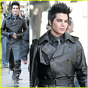 Adam Lambert: On Set Pics From 'For Your Entertainment'!