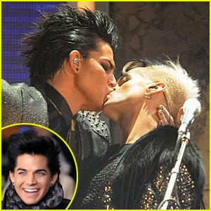 CBS Explains Why They Blurred Adam Lambert's Kiss