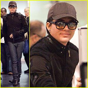 Adam Lambert Takes Flight