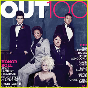 Adam Lambert & Wanda Sykes: Out 100 Cover Stars