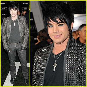 Adam Lambert: Studded 2012 Premiere!