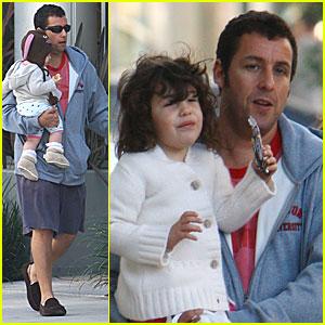 Adam Sandler & Family Visit Magicopolis