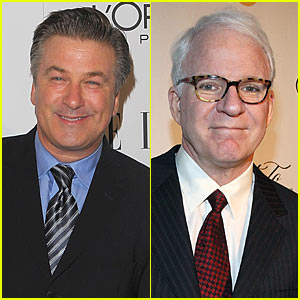 Steve Martin & Alec Baldwin: Oscars Co-hosts!