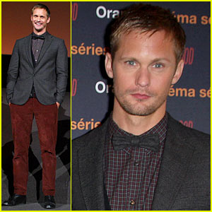 Alexander Skarsgard Interview -- JustJared.com Exclusive