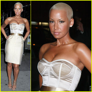 Amber Rose is Charming In Chelsea